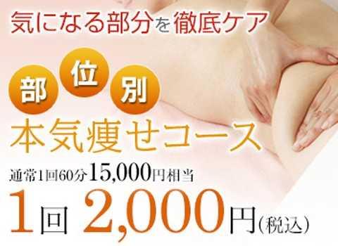 本気痩せコース2000円
